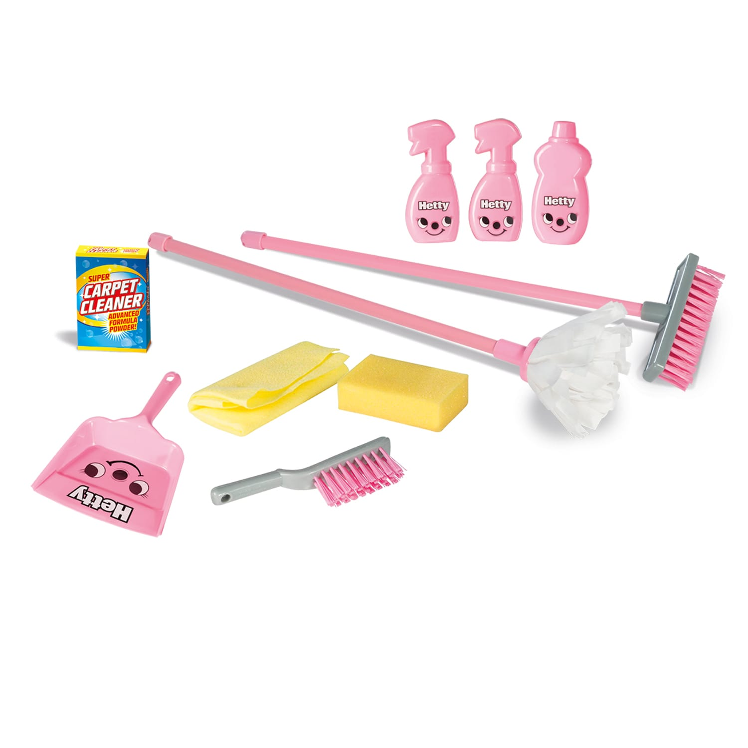 Hetty Household Cleaning Set For Housework Role Play